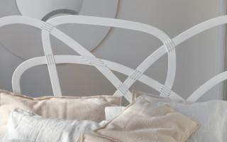 letto moderno in ferro