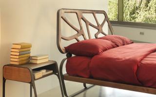 letto ferro legno massello