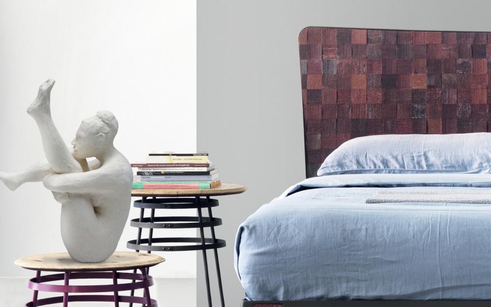 Letto ferro legno moderno arredamento moderno - Letto moderno legno ...
