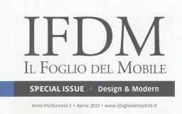 IL FOGLIO DEL MOBILE - Italy April 2013