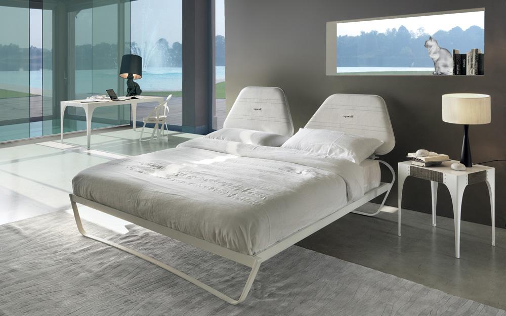 Town letto moderno imbottito in