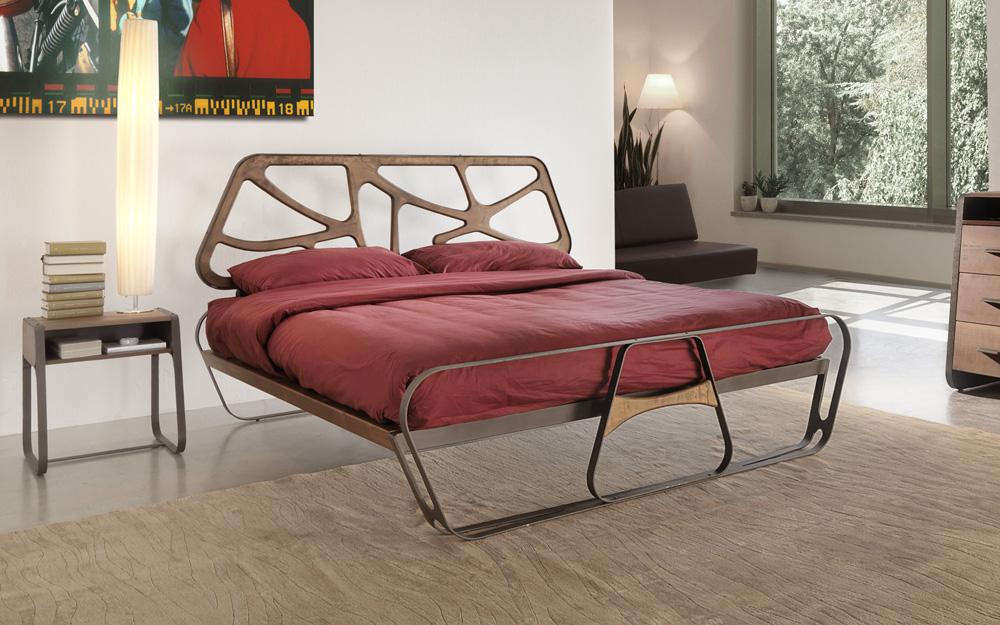 letto ferro legno massello - Arredamento Moderno italianironlab.com