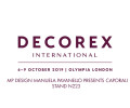 MP Design presenta Caporali Decorex London 6-9 Ottobre 2019
